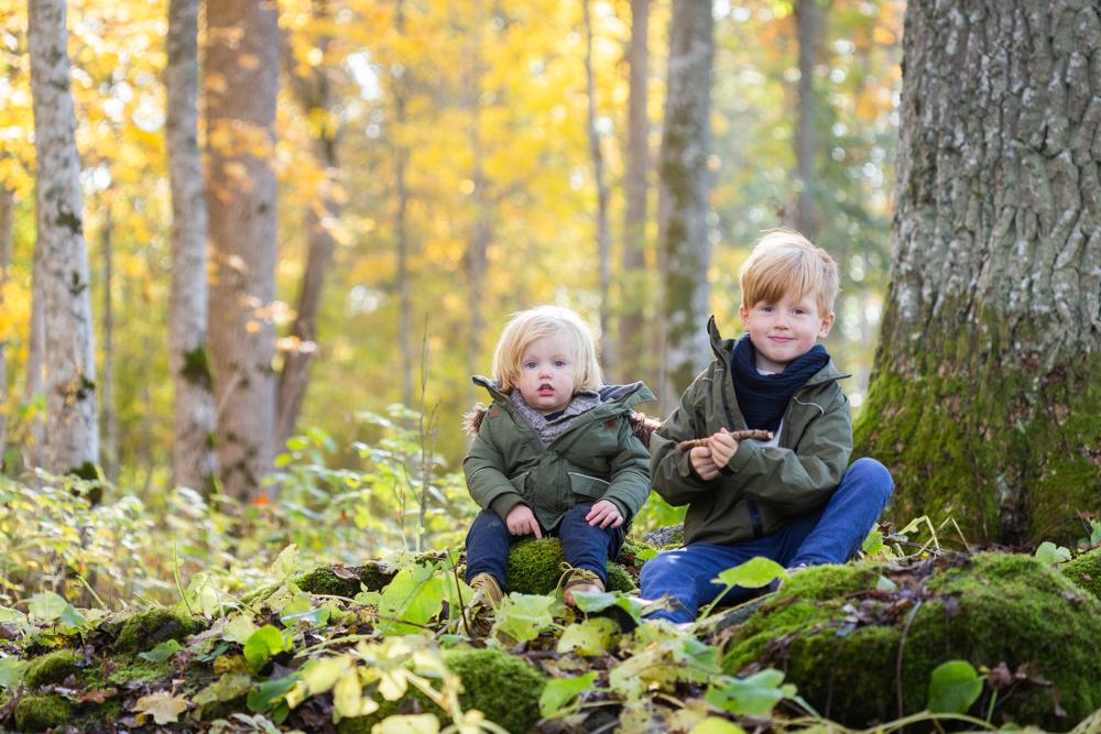 Utomhusfotografering i den vackra hösten!