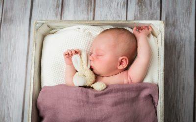 Varm nyföddsfotografering